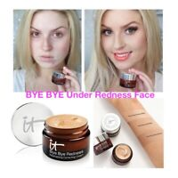 IT Cosmetic BYE BYE Under Redness Face Concealer Cream Make Up Base Long Lasting
