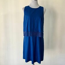 NEXT  BNWT Tailored Linen Blend Layer Dress Size 10 Brand New