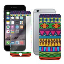 Tribal Aztec Pattern Skin Decal Wrap + Screen Protector For iPhone 6/6