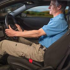 Vivi Swivel Seat Relax-a-Bac Premium Cushion Compact Size Black Car Travel Seat