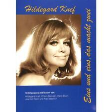 Hildegard Knef - Eins und eins, das macht zwei - Noten Songbook [Musiknoten]