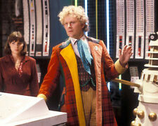Colin Baker and Nicola Bryant UNSIGNED photo - H8059 - Doctor Who