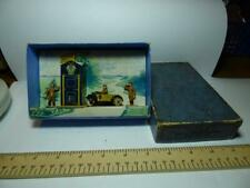 PRE-WAR DINKY TOYS SET 44 AA HUT MOTOR CYCLE PATROL AND GUIDES