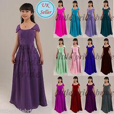 Vestido de Noche línea A/Princesa Flores Niña de Boda para Dama Junior 2-12 (FG17)
