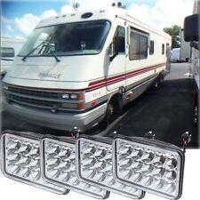 AIRSTREAM PINNACLE 4x LED HEADLIGHTS HEAD LIGHTS LAMPS Motorhome RV