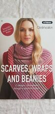 Unique Pattern Book #361 Scarves Wraps and Beanies 11 designs to make