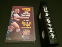 20 YEARS OF STATE OF ORIGIN IN A LEAGUE OF OUR OWN AUSSIE RUGBY LEAGUE VHS VIDEO