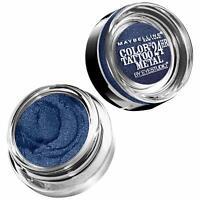 Maybelline New York Metal 24HR Cream Gel Eyeshadow, Electric Blue-pack of 2