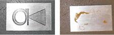 1 x logo emblème occasion vintage enceintes 3A Academic