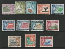 More details for pitcairn islands 1957-63 complete set sg 18-28 mnh.