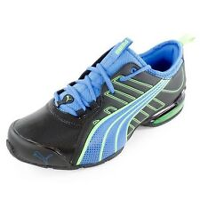 NWT NEW Puma Men`s Voltaic 4 SLS Running Shoes Black and Blue Size 9