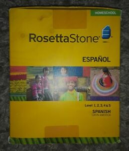 Rosetta Stone Espanol Version 4 Level 1-5