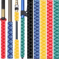 Waterproof Fishing Rod Handle Non Slip Grip Textured Heat Shrink Tube Sleeve POU