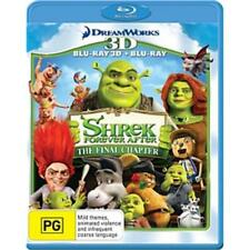 Shrek Forever After (4) Blu-ray 3D + 2D BRAND NEW SEALED Region B FREE POSTAGE