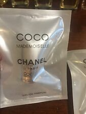 NEW -  Lot Of 2 CHANEL COCO MADEMOISELLE  2ML EDP Fragrance Rollerball Samples