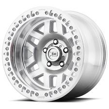 KMC XD229 MACHETE CRAWL BEADLOCK 17X9 Satin Black Mach Face Alloy Mag Wheel Rim