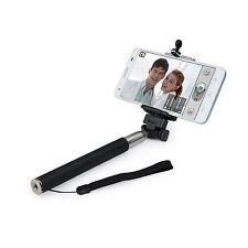 Black Adjustable Monopod Selfie Stick For Samsung Galaxy S7 S6 Edge S6 S5 A5 A3