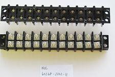 1x Kulka Marathon 602 GP2202 11 Position, Double Row, 300V 30A Terminal Block