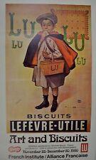 Lu Lu Biscut, Original Poster