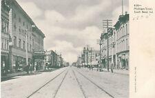 G3082 IN, South Bend Michigan Street Postcard