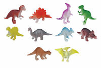 6 Plastic Dinosaurs Toys - Pinata Toy Loot/Party Bag Fillers Childrens/Kids