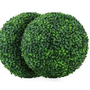 Hot Sale 4 Layers Artificial Plant Topiary Ball Backyard Balcony Garden Decor