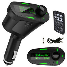 Reproductor transmisor MP3 FM de car mechero coche radio SD usb Led volumen nuev
