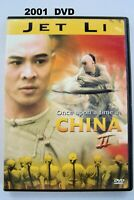 Once Upon a Time in China 2 DVD, 2001 Jet Li 19th Century Doctor Revolution