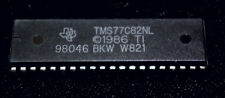 TMS 77C82NL   Microcontroller IC  40 PIN