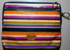 New Fossil Elegant Striped Multi Colored IPAD TABLET CASE SLEEVE