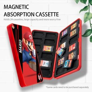 Game Card Case Cover Storage Magnetic Portable Box Holder For Nintendo Switch