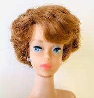 RARE Vintage Barbie Doll Auburn Bubble Cut 1960' PINK BUBBLEGUM LUCY LIPS