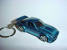 NEW 3D BLUE MAZDA RX-7 CUSTOM KEYCHAIN keyring key racing BACKPACK BLING!