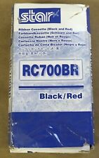 Star Ink Ribbon Black / Red Thermal Transfer 1.5M / .075M for SP700 30980721 NEW