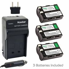 Kastar EN-EL3A Battery & Regular Charger for Nikon D50 D70 D70s D100