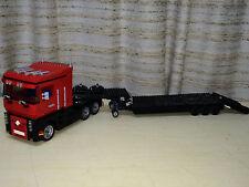 LEGO CUSTOM RENAULT TRUCK WITH TRAILER - MODEL TEAM  -  26 INCH LONG !!!