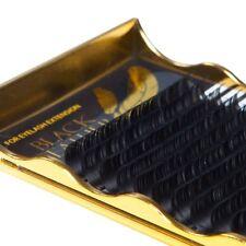 Black Feather individual eyelash extensions lightest lash CС curl 0.07 mix
