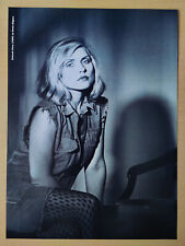 More details for blondie / debbie harry - black&white magazine poster / picture - new wave - rare
