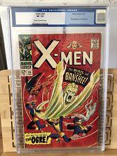 X-Men # 28 cgc 7.5 💥First App The Banshee💥