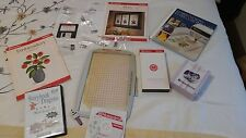 Bundle of  Husqvarna Viking Sewing Machine Accessories Designer 1 Embroidery