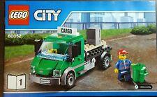 2 x LEGO City Cargo Lorry truck (Split) from 60052 Cargo Train - No Box - NEW