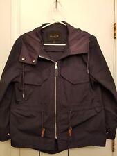 Coach Rain Coat.  Navy Blue