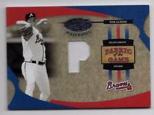 TOM GLAVINE 2005 Leaf Certified Fabric Of The Game JERSEY Card #d 50/50 Last 1