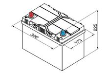 Chevrolet Captiva C100 C140 2006-2016 Bosch S4 Battery 95Ah Electrical Part