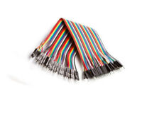 40pcs 20cm Dupont Male to Male Breadboard Jumper Wire F Raspberry Pi Arduino
