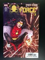 Spider-Force #3 Spider-Geddon Tie in Marvel Comic 1st Print 2018 unread NM