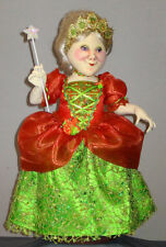 """*NEW* CLOTH ART DOLL PAPER PATTERN """"FAIRY GODMOTHER"""" BY ARLEY BERRYHILL"""