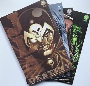2002 JLA DESTINY #1-4 Complete Set DC Comics Lot Run Justice League 2 3
