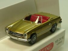 Wiking mercedes 250 sl cabriolet, or - 0142 49