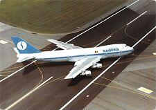 Br44781 Sabena World airlines Boeing 747 100 plane airplane